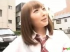 激カワ女子校生の彼女に学校休ませて久しぶりに会い中出しフィニッシュ!erovideoかわいい制服女子校生JKの無料エロ動画