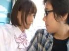 ショートカットの巨乳美少女JKがマジックミラー号でオタク童貞を誘惑しHな言葉連発しながらセックス erovideo かわいいJK女子校生の制服無料エロ動画