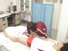 保健室で寝ている大好きな先輩のチンポを勝手にフェラしちゃう美巨乳体操服女子校生 erovideoかわいいJK女子校生の無料AV
