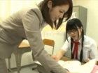 JK同士でレズる光景をみた美人女教師も発情してさらにレズっちゃう百合学園 RED TUBEかわいいJK女子校生の無料エロ動画