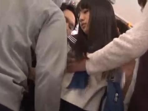 セーラー服の可愛い巨乳JKがバスやトイレや電車で痴漢されて犯されまくる erovideoかわいいJK女子校生の制服無料アダルト動画