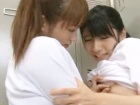 部活終わりにロッカールームで激しく絡み合う2人のブルマ姿のアイドル級美乳レズ女子高生 大沢美加 FC2 かわいいJK女子校生の制服無料エロ動画