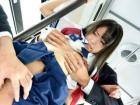 痴漢魔を撃退するはずの美少女JK捜査官が逆にバスの車内でレイプされる さくらゆら erovideo かわいい制服女子校生JKの無料エロ動画