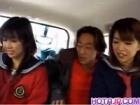 ナンパした茶髪JK2人をワンボックスカーで連れ出し車内でフェラ erovideo かわいい JK 女子校生の制服無料アダルト動画
