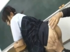 黒髪ツインテールの可愛い系JKが体操着や制服で美尻を男に弄ばれて綺麗な顔を顔射で汚されてしまうSEX erovideoかわいいJK女子校生の制服無料エロ動画