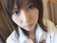 とっても綺麗な顔立ちをした美人女子校生とホテルでハメ撮りセックス FC2 かわいい制服女子校生JKの無料エロ動画