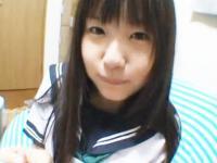 彼女の妹の黒髪ロリJKと禁断のイチャラブ浮気セックス つぼみ FC2 かわいいJK女子校生の制服無料エロ動画