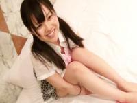 ホテルでディルドをフェラチオさせられる純粋そうな黒髪ツインテールJK FC2 かわいい制服女子校生JKの無料エロ動画