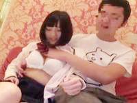 おマンコが壊れそうなくらい突かれまくって悶えまくる綺麗なパイオツの素人JKと中出しハメ撮りSEX erovideo かわいい制服女子校生JKの無料エロ動画