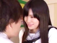 巨乳のパイズリ上手な美少女JKが男子と教室で濃密エッチ 高橋しょう子 ShareVideos かわいい制服女子校生JKの無料エロ動画