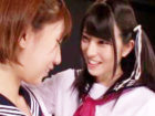 教室で女の子同士でおマンコをいやらしく弄り合うレズっ子JKたち 上原亜衣 XVIDEOS かわいいJK女子校生の制服無料エロ動画