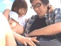 童貞メガネくんを優しくリードしながら筆おろしをさせてあげるアイドル系の可愛い巨乳美少女JKのエッチ JavyNow かわいいJK女子校生の無料エロ動画