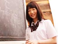 145cmの女子校生が制服を脱いだら意外に大きなむっちり巨乳を見せてくれるイメージビデオ 田丸みく erovideoかわいいJK女子校生の制服無料エロ動画
