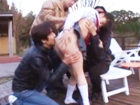 初心な処女を求めて田舎まで来た女子校生狩りレイプ集団に襲われて無理やりヤラレちゃう地味目の少女 FC2かわいいJK女子校生の制服無料エロ動画