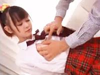 ピンクの乳輪がエロい激カワ巨乳JKの身体をたっぷり愛撫して喘がせちゃう着衣中出しセックス ゆうきさやか erovideoかわいいJK女子校生の制服無料エロ動画