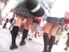 学校帰りに渋谷の街を歩く女子校生の太ももとスカートをひたすら追いかけながら後ろから盗撮 erovideoかわいいJK女子校生の無料エロ動画