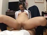 親に内緒で家庭教師のオジサンを誘惑して痴女る三つ編みパイパンJKのセックス ShareVideosかわいいJK女子校生の無料エロ動画