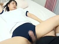 体操着の巨乳JKのブルマを脱がし保健室でハメ撮り中出しセックス ShareVideosかわいいJK女子校生の制服無料アダルト動画