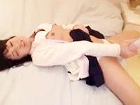街でナンパしてきた男とボーリング終わりにラブホでハメ撮りセックスされる黒髪女子校生 erovideoかわいいJK女子校生の制服無料エロ動画