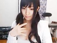アイドル級に可愛い黒髪美少女JKがライブチャットしながらローターでオナニー ShareVideosかわいいJK女子校生の制服無料エロ動画
