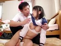 勉強中に欲情した家庭教師の男に無理やり巨乳を揉みしだかれハメられちゃう女子校生のセックス JavyNowかわいいJK女子校生の制服無料エロ動画