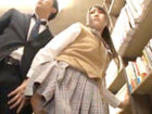 学校帰りに寄り道した本屋で鬼畜サラリーマンに痴漢どころか生ハメまでされちゃう巨乳女子校生のセックス XVIDEOSかわいいJK女子校生の制服無料エロ動画