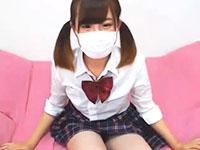 マスク着用のロリ系女子校生が制服の下のスクール水着を少しずづ脱いでおっぱいまで見せるライブチャット 裏アゲサゲ かわいいJK女子校生の制服無料エロ動画