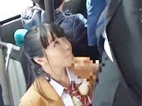 電車で痴漢をしてきたリーマンのチンコをフェラチオし周りの乗客もお構いなしにセックスまでしちゃう大胆過ぎるポニテのJK ShareVideosかわいいJK女子校生の制服無料エロ動画