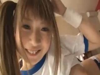 アイドル顔負けのムッチムチの爆乳JKをブルマやらスポーツウェアに着替えさせてそのまま着衣セックス erovideo かわいいJK女子校生の無料AV