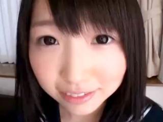 めっちゃ可愛いロリ顔の黒髪美少女JKがキモイおっさんのチンポを挿入されてアンアン感じまくりの援交セックス 裏アゲサゲ かわいい制服女子校生JKの無料エロ動画