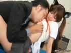 ロッカールームでネコ耳つけた制服姿の美乳女子校生の身体を舐めまくる男性教師 erovideoかわいいJK女子校生の制服無料エロ動画