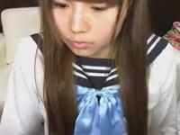 ライブチャットで躊躇なく脱ぐ制服素人JK erovideo かわいい JK 女子校生の制服無料エロ動画