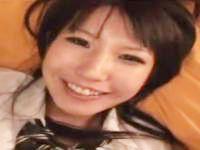 笑顔でザーメンをごっくんしてくれるエッチが大好きな可愛い女子校生のハメ撮りセックス ShareVideos かわいいJK女子校生の制服無料エロ動画
