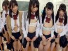 クラス全員の女子生徒に催眠術をかけて教室でフェラさせるハーレム状態エッチ FC2かわいいJK女子校生の無料エロ動画