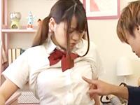 嫌がる女子生徒の巨乳を無理やり揉みながら授業そっちのけで中出しセックスしちゃう鬼畜家庭教師 JavyNowかわいいJK女子校生の制服無料エロ動画