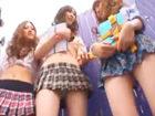 ジャパニーズギャルJKたちがアメリカの黒人たちの巨大ディックをフェラチオでイカしちゃう JavyNowかわいいJK女子校生の制服無料アダルト動画