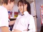 ポニテの美少女JKマネージャーにお願いして部室でフェラチオしてもらう高校生男子 erovideoかわいいJK女子校生の制服無料アダルト動画