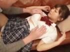 ポニーテールの巨乳女子校生がおやじのチンポをパイズリして奉仕してからがっつり突かれる着衣セックス ShareVideosかわいいJK女子校生の制服無料アダルト動画