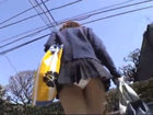 学校帰りの制服素人JKの後ろを付けながらひたすらパンチラを盗撮 erovideoかわいいJK女子校生の制服無料エロ動画