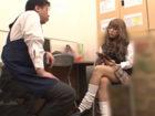 万引きしたくせに全く反省していないギャル系素人JKの親を呼びだしお仕置き中出しセックスさせる変態店長 JavyNowかわいいJK女子校生の制服無料エロ動画